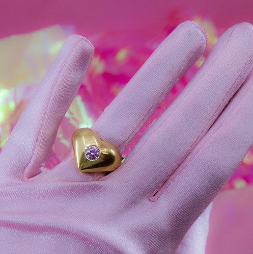 Bubble Heart Ring