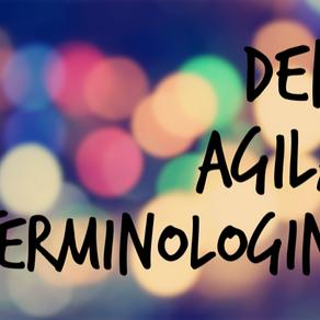 Vi reder ut den agila terminologin