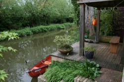 Canal-side Garden
