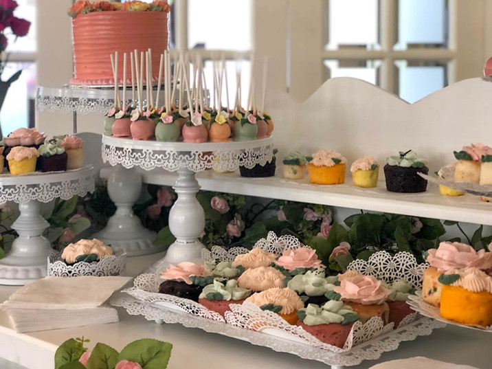 Birthday Dessert Cart