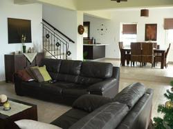 Modern home on two floors