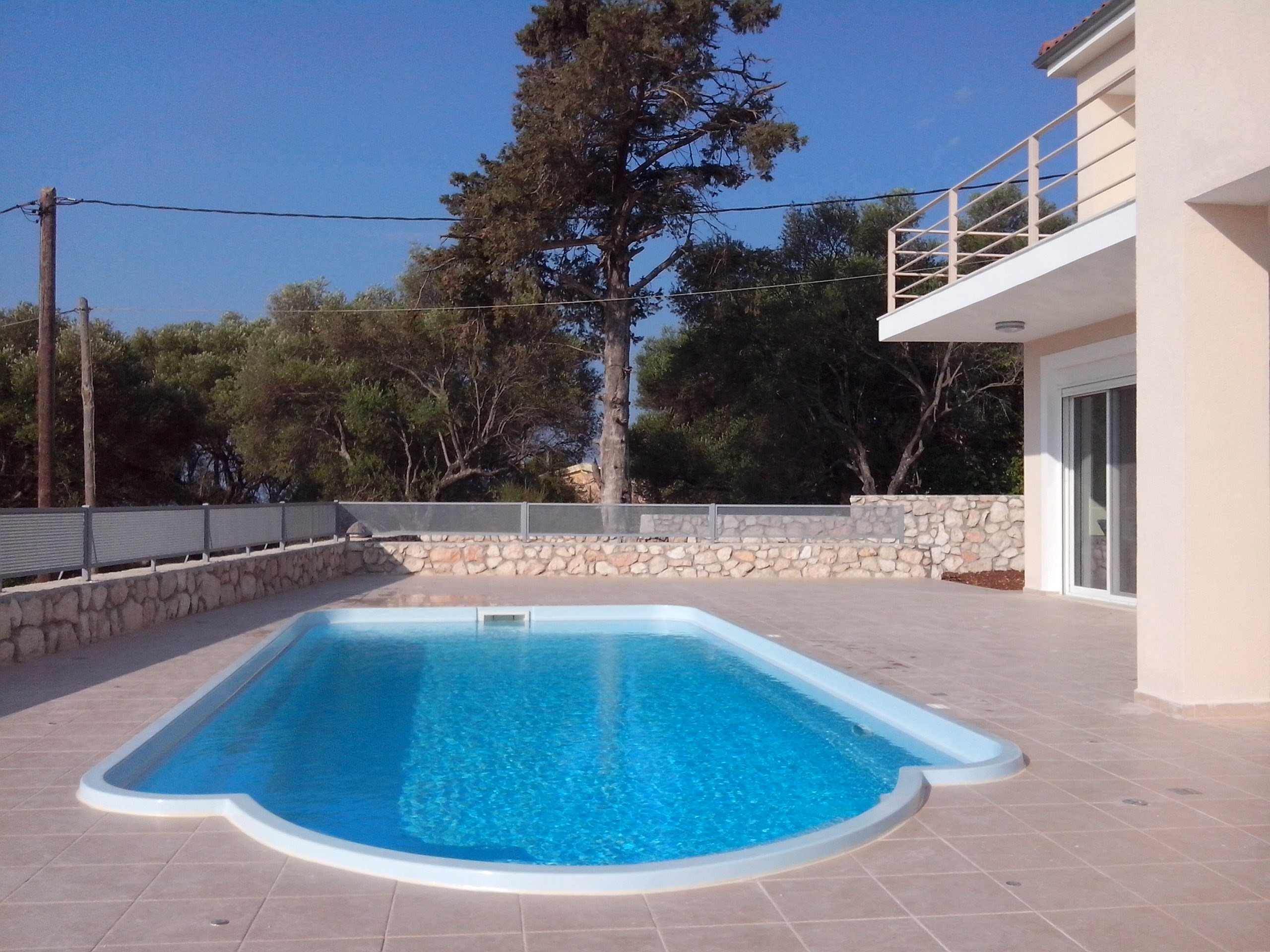 Villa Eirene pool area