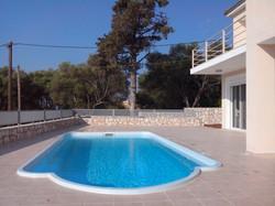 Villa Eirene pool area
