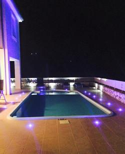 Villa Eirene by night