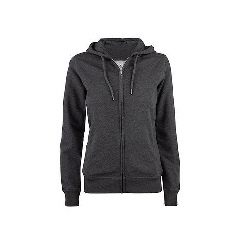 Premium OC Hoody Full Zip Ladies, Clique 021005