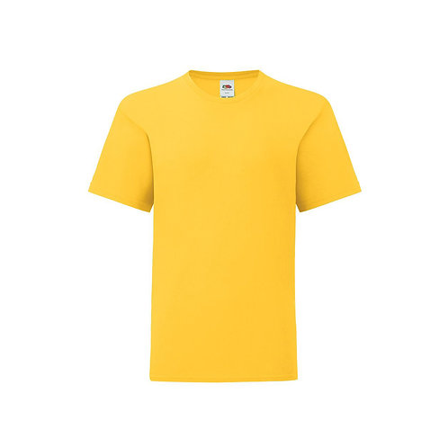 Iconic Kids 150 T-Shirt, Fruit of the loom