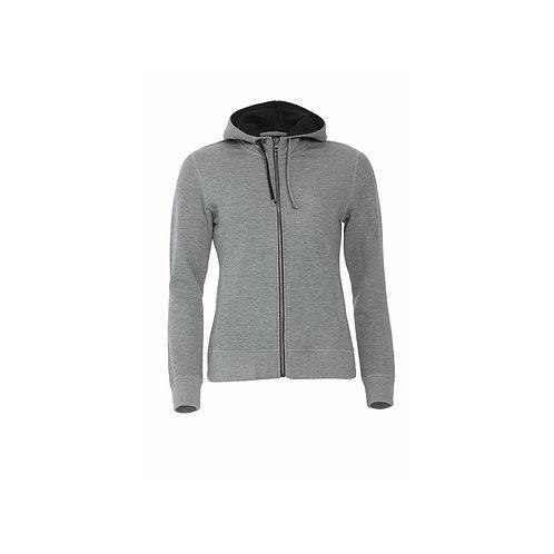 Classic Hoody Full Zip Ladies, Clique 021045