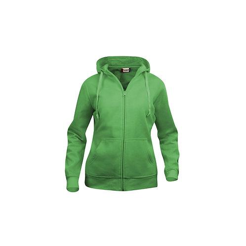Basic Hoody Full Zip Ladies, Clique 021035