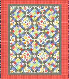 French Garden in a Bushel and a Peck by Michael Miller Fabrics