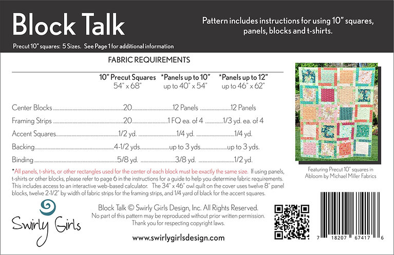 Block Talk