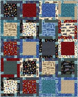 Block Talk in Locomotion by QT Fabrics