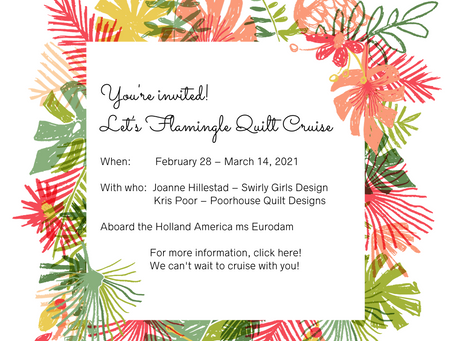 Let's Flamingle - Quilt Cruise 2021