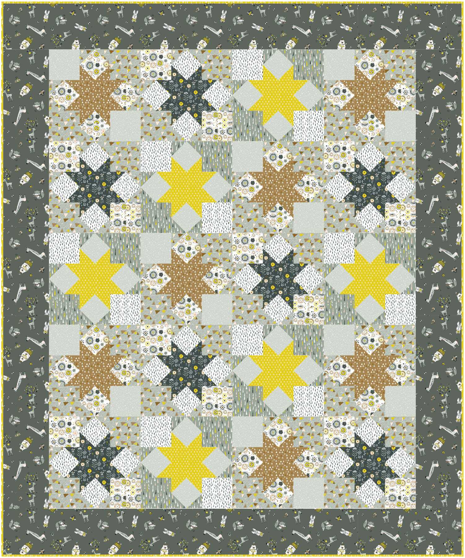 Star Struck in Whimsicals by Michael Miller Fabrics