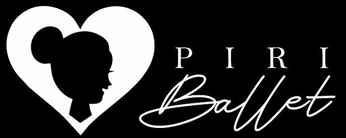 Piri Ballet Logo White on Black backgrou