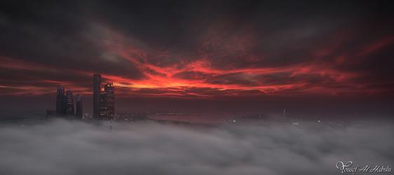 Firece Sunset