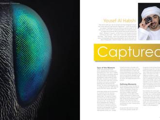"""Captured"" in Fullframe Magazine May/Jun 2014"