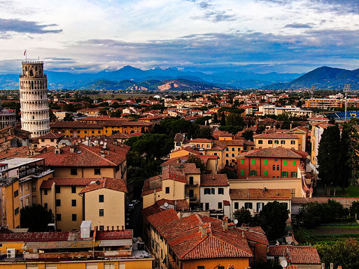 Pisa Canvas Prints