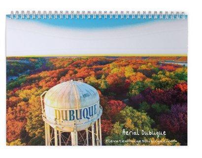 2021 Aerial Dubuque Calendar