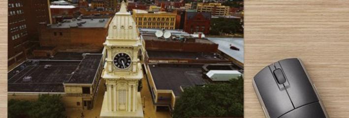 Town Clock in Dubuque, IA