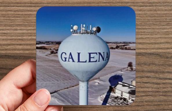 Galena Coaster