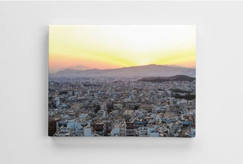 Sunset in Athens