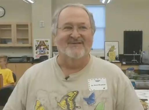 Our own Steve Murphree, Biology professor and Entomologist, hosts Bug Camp at Belmont University