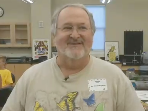 Our own Steve Murphree, Biology professor and Entomologist, hosts Bug Camp at Belmont University