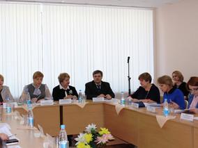 Прошло заседание коллегии департамента образования