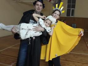 Новогодний городской семейный марафон «Мы – спортивная семья»
