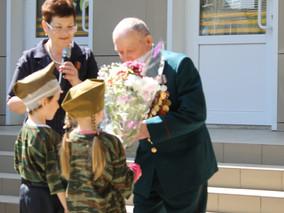 В канун 71-ой годовщины Победы прошла военно-спортивная игра «Зарница»
