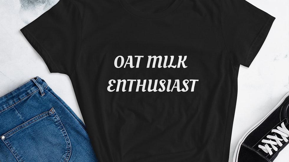 Oat Milk Enthusiast Women's T-shirt