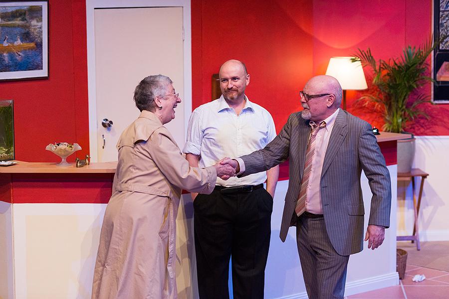 Mrs Spence, John and Roy