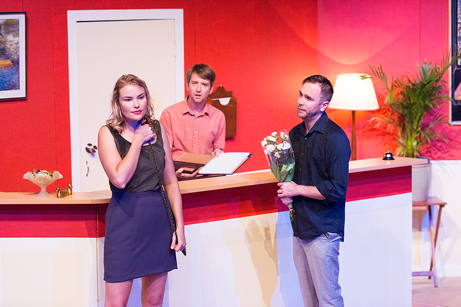 Ellen, Nigel and Tom