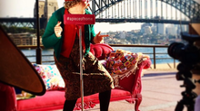 Granny May takes a trip to Circular Quay