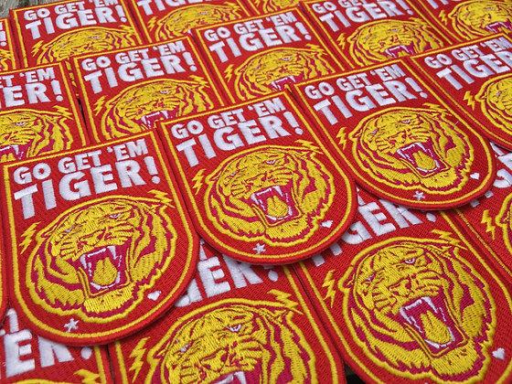 """PATCH """"Go Get 'Em Tiger"""""""