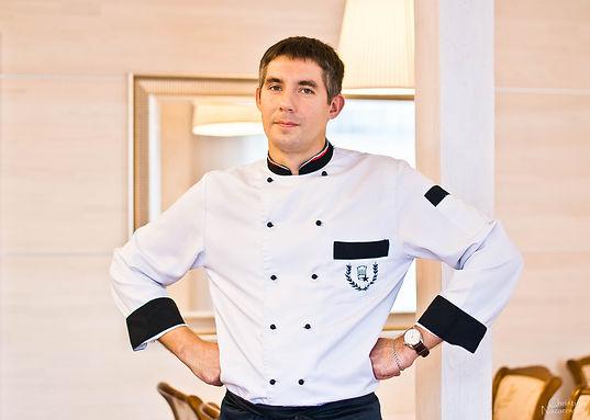 повар, шеф-повар, рестора, на мельнице, банкет