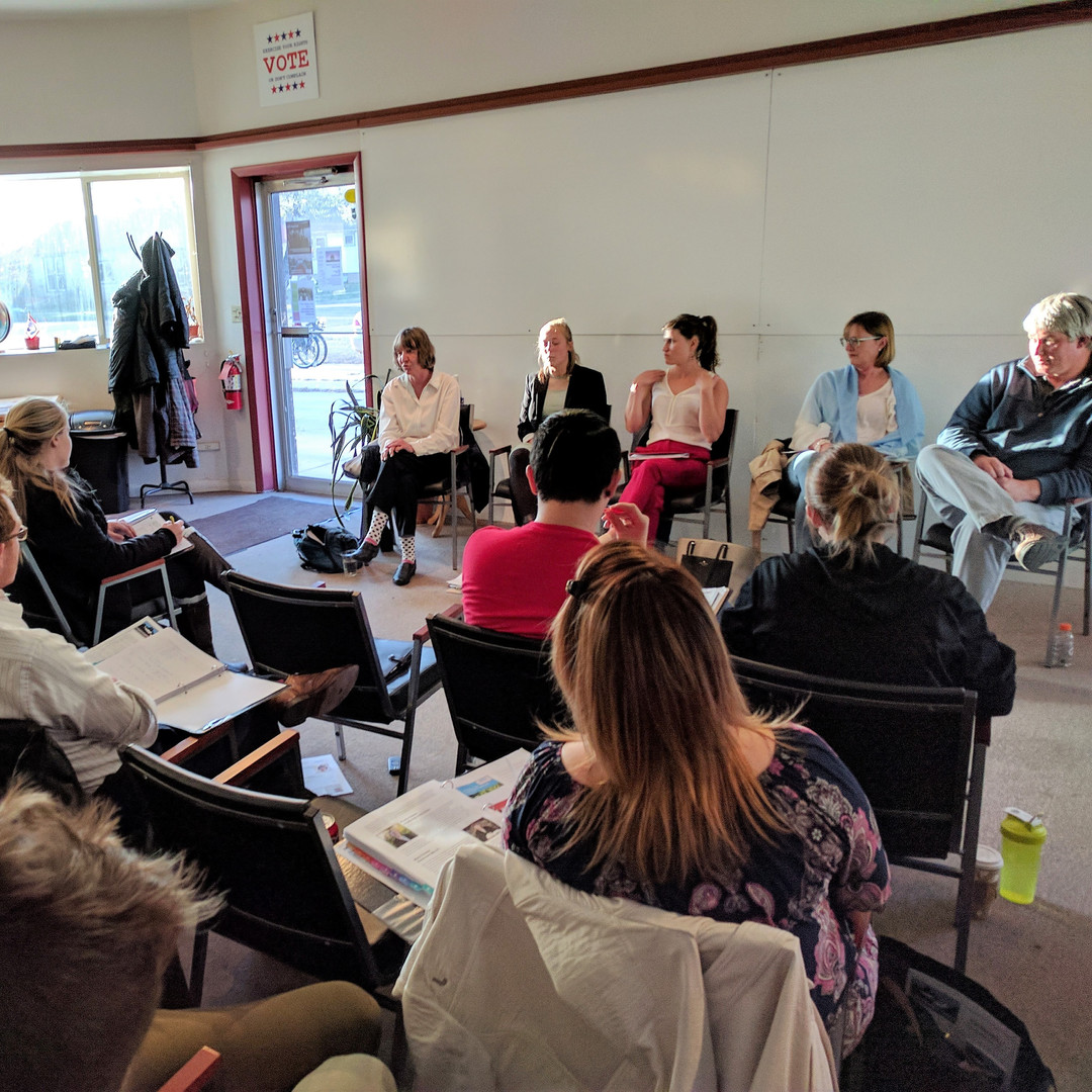 MEETING LOCAL NONPROFIT LEADERS