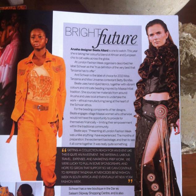 Paa Tanzania - Editorial