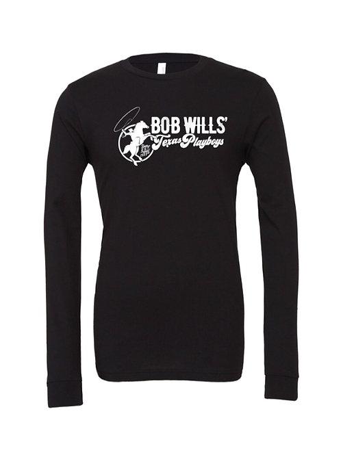Long Sleeve T-Shirt (Black & White)