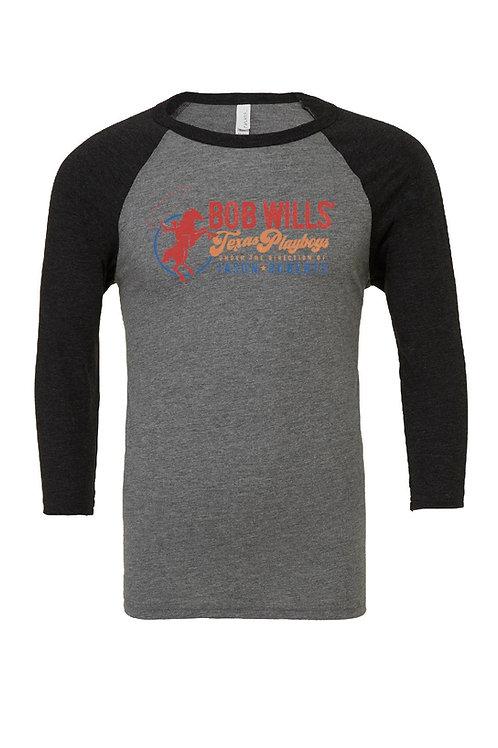 Baseball T-Shirt (Black & Gray)