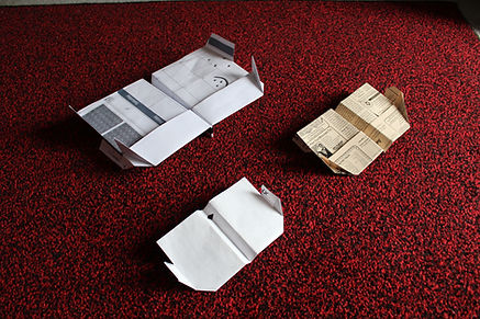 IVPAC paper airplane Vampyre
