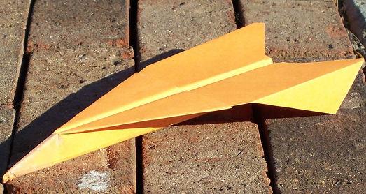 IVPAC paper airplane Javelin at Haw River IAB
