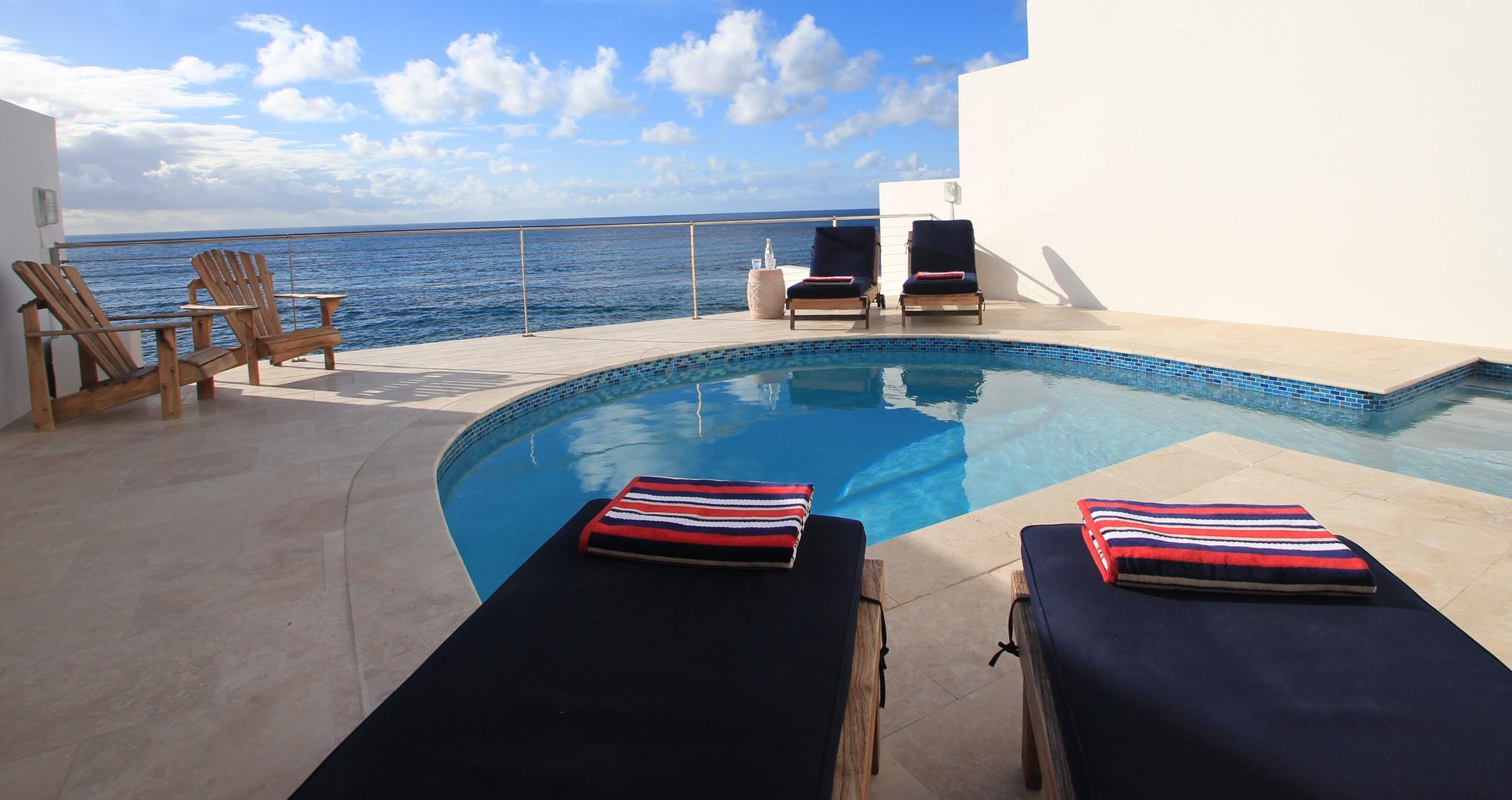 Villa Velaire Pool Deck