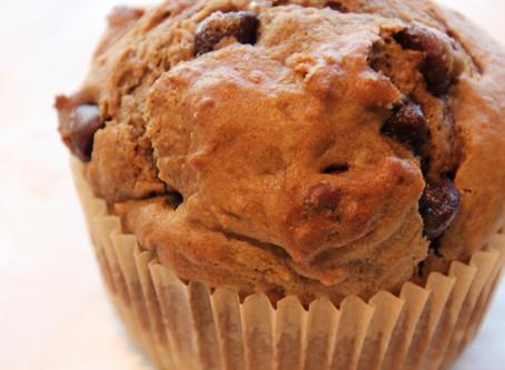 mocha chocolate chip muffin February's muffin