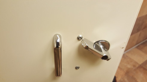 Bathroom Partition Repair