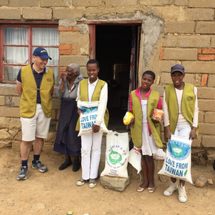 Food aid was also delivered to low income people living in urban areas.