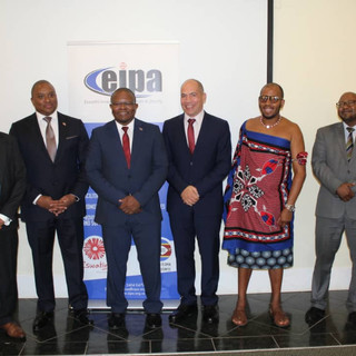 Project launch with the Eswatini government in March 2020.