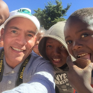 Kids will be kids, and these children were very interested in taking selfies.