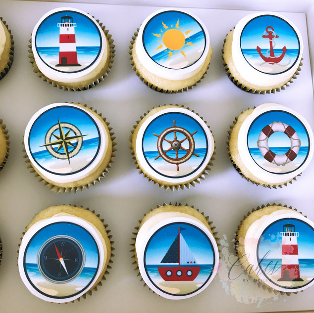 nautical themed edible images.