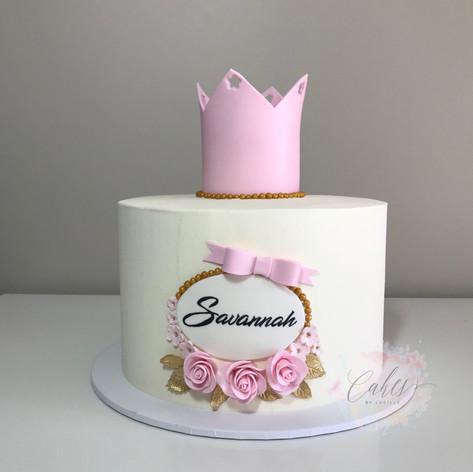 Savannah pink crown